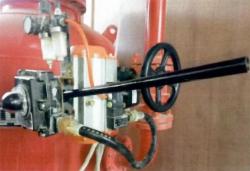 干粉灭火设备选择阀